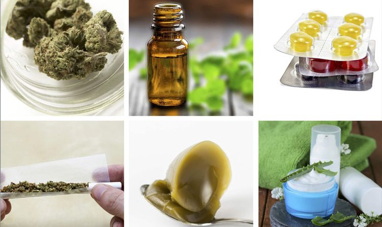 CBD oil, capsules and topicals